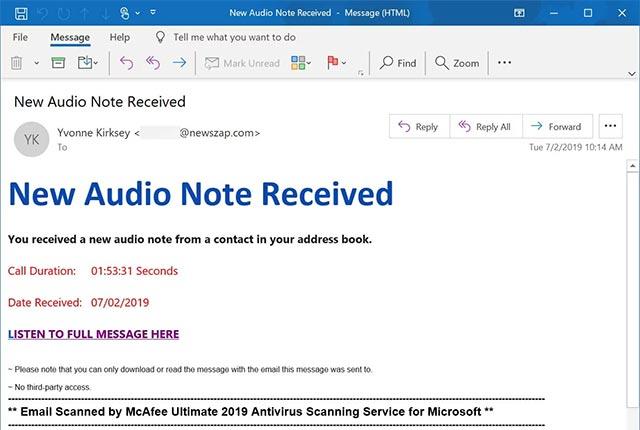 Hình thức lừa đảo mới liên quan đến Microsoft OneNote