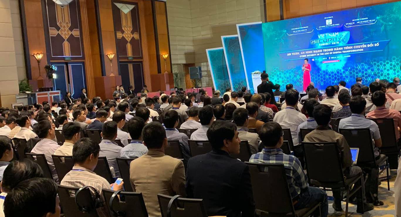 VNETWORK nổi bật tại sự kiện Vietnam Security Summit 2019