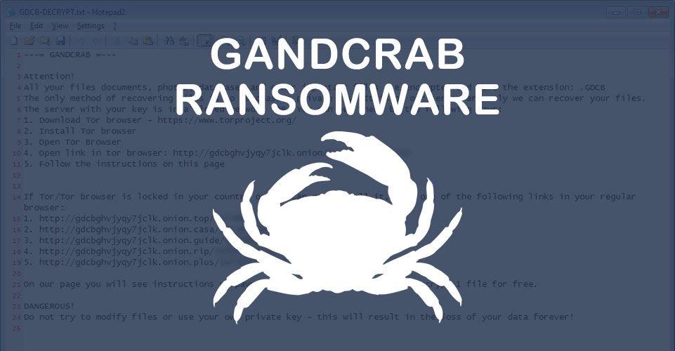 GandCrab Ransomware ngừng hoạt động sau khi kiếm được 2 tỷ đô la