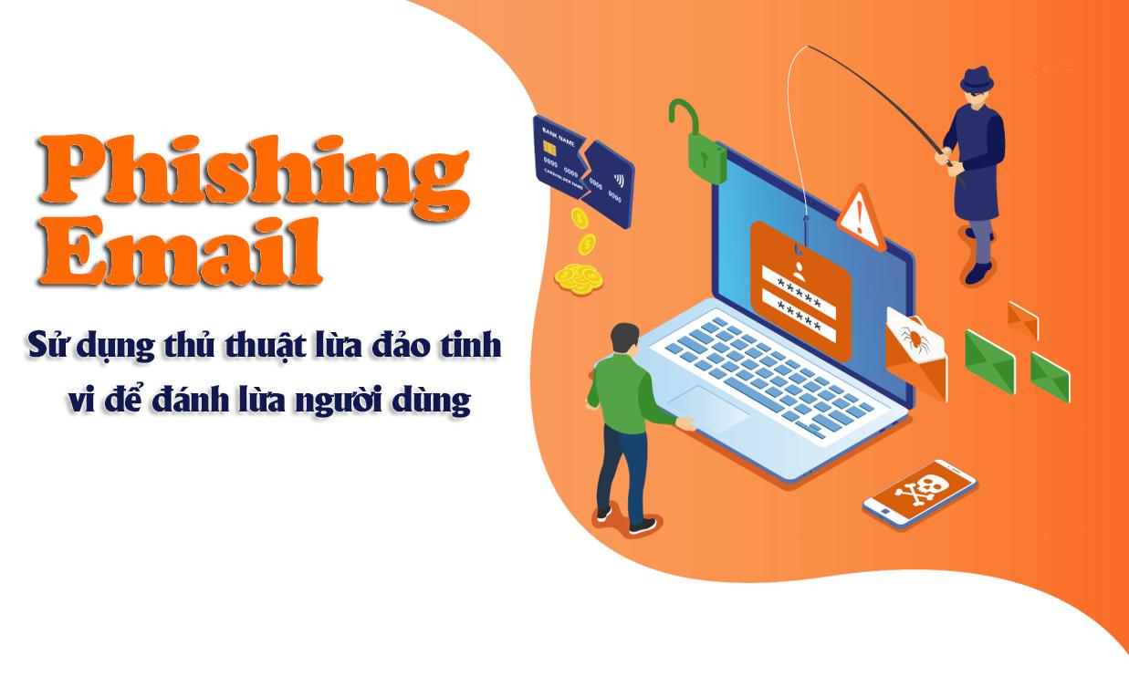 Email giả mạo - Chiêu trò cũ nhưng nhiều người Việt vẫn mắc bẫy